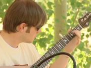 Aaron O'Rourke Playing own tune on Banjola