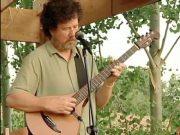Al Petteway playing the E-Bow on a Banjola at the CO Banjola Festival