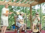 Edward Dick and Tracy Leveque Performing at The Colorado Banjola Festival