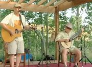 Edward Dick and Douglas Cameron at the Colorado Banjola Festival