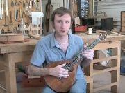 Chris Elliott on a Victor Petite Banjola