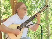 Steve Mullins at the First Ever Colorado Banjola Festival